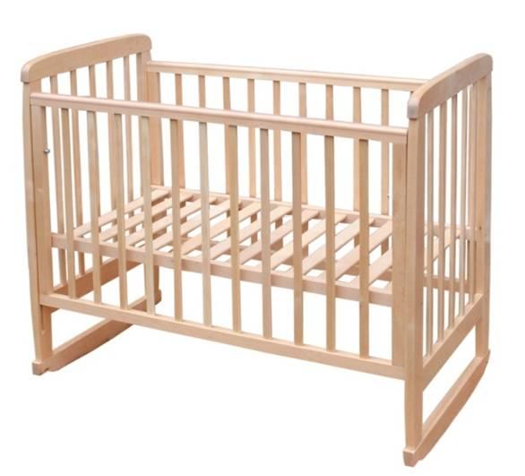 Кроватка детская Соня-2 (колесо-качалка)