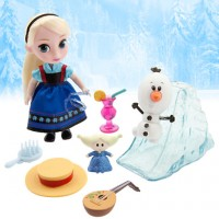 "Набор Холодное Сердце: Эльза ребенок (Elsa Mini Doll Play Set - Frozen - 5"")"