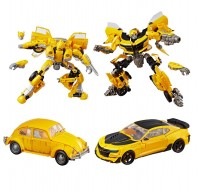 Transformers Bumblebee Studio Series 24 and 25 deluxe class