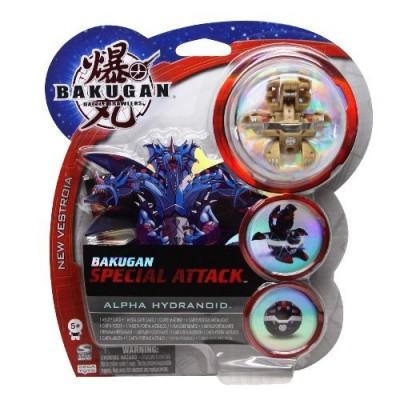 Игровой набор Bakugan Special Attack (1 бакуган + 1 магн.карта ворот)