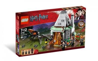 Конструктор ЛЕГО Хижина Хагрида ( LEGO Harry Potter Hagrid's Hut ), lego4738