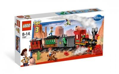 Конструктор ЛЕГО Ковбойский поезд ( LEGO Toy Story Western Train Chase ), lego7597