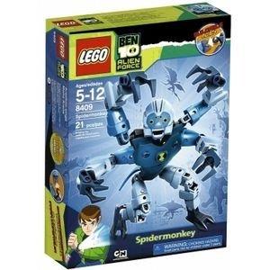 Конструктор ЛЕГО Паук-обезьяна Бэн ( LEGO Ben 10  Spidermonkey ), lego8409